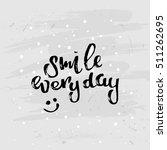concept handwritten poster. ... | Shutterstock .eps vector #511262695