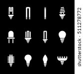 the light bulb icon  set of 12...