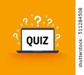 quiz  test  survey  exam vector ... | Shutterstock .eps vector #511284508