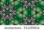 abstract hand painted... | Shutterstock . vector #511290016