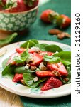 Spinach Salad With Strawberrie...