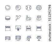 sport icons | Shutterstock .eps vector #511291798