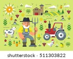 flat style illustration of... | Shutterstock .eps vector #511303822