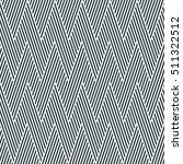 monochrome striped seamless...   Shutterstock .eps vector #511322512