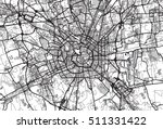 urban city map of milan  italy | Shutterstock .eps vector #511331422