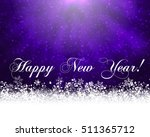 winter holiday greeting card.... | Shutterstock .eps vector #511365712