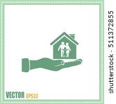 concept illustration of safety... | Shutterstock .eps vector #511372855