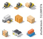 storage equipment isometric...