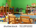 chairs  table and toys....   Shutterstock . vector #511391032