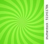 swirling radial bright green... | Shutterstock .eps vector #511411786