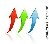 arrow icon vector | Shutterstock .eps vector #51141784