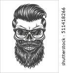 monochrome illustration of... | Shutterstock . vector #511418266