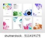 set of hand drawn universal... | Shutterstock .eps vector #511419175