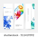 set of hand drawn universal... | Shutterstock .eps vector #511419592