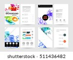 set of hand drawn universal... | Shutterstock .eps vector #511436482
