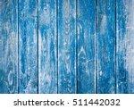 Dark Blue Wood Texture...