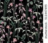 bouquets romantic forest... | Shutterstock .eps vector #511447495