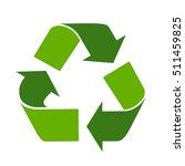 Green Arrows Recycle Eco Symbo...