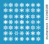 set of 49 vector flat... | Shutterstock .eps vector #511460188