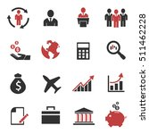 people business icon vector set | Shutterstock .eps vector #511462228