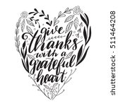 vector hand drawn motivational... | Shutterstock .eps vector #511464208