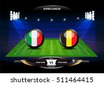 football or soccer playing... | Shutterstock .eps vector #511464415