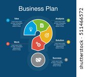 business plan ideographic... | Shutterstock .eps vector #511466572