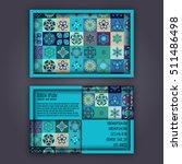 vector business card design... | Shutterstock .eps vector #511486498