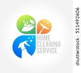 cleaning service business logo...