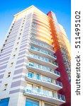 modern apartment buildings... | Shutterstock . vector #511495102