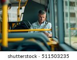 confident businessman traveling ... | Shutterstock . vector #511503235
