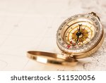 compass and map   Shutterstock . vector #511520056