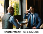 business meeting at the cafe | Shutterstock . vector #511532008