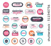 sale shopping stickers and... | Shutterstock .eps vector #511540756
