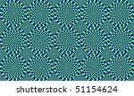 green and blue concentric... | Shutterstock . vector #51154624