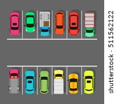 parking zone conceptual web... | Shutterstock . vector #511562122