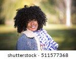ethnic woman wearing fashion... | Shutterstock . vector #511577368