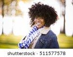 ethnic woman wearing fashion... | Shutterstock . vector #511577578