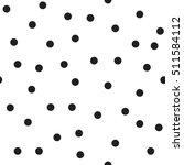 polka dot seamless pattern.... | Shutterstock .eps vector #511584112