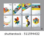business vector set. brochure... | Shutterstock .eps vector #511594432