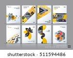 business vector set. brochure... | Shutterstock .eps vector #511594486