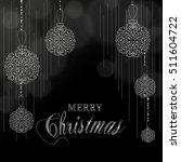 merry christmas vector... | Shutterstock .eps vector #511604722