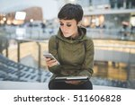half length of young handsome... | Shutterstock . vector #511606828