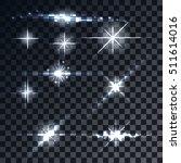 large set of realistic lens... | Shutterstock .eps vector #511614016