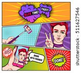 Selfie Comics Page With...