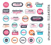 sale shopping stickers and... | Shutterstock .eps vector #511643056