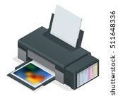 photo inkjet printer. color...
