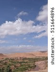 Small photo of View from Ait Ben Haddou, Quarzazate Morocco