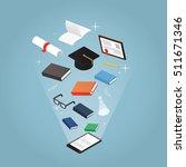 isometric vector concept... | Shutterstock .eps vector #511671346