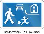 belgian regulatory road sign  ... | Shutterstock . vector #511676056